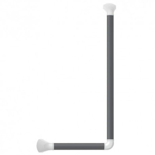 SecuCare Grab Rail 90� 60x30cm Dark Grey and Mat White  VAT EXEMPT