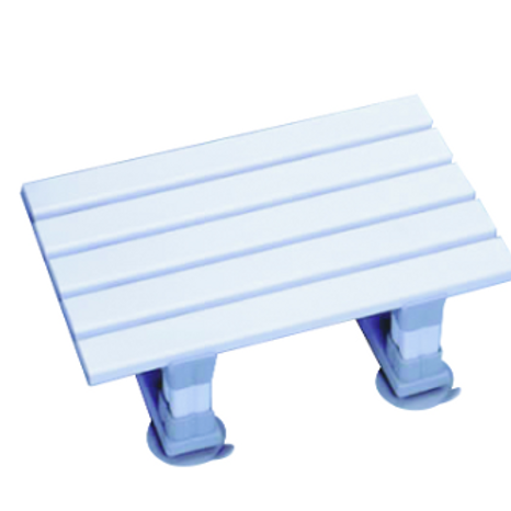 "Atlantis Slatted Bath Seat - 8""	VAT EXEMPT"