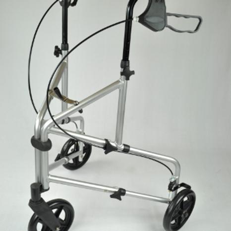 Compact Aluminium Tri Wheel - Silver VAT EXEMPT