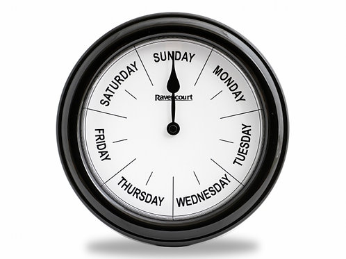 Dementia & Alzheimer's Day of the Week Wall Clock