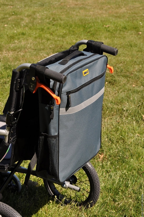 Splash Wheelchair Bag - Grey (VAT EXEMPT)