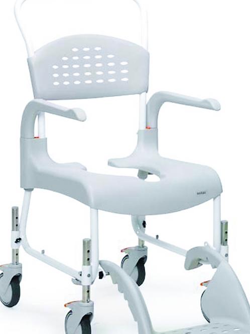Clean Shower & Toilet Chair - Adjustable Height VAT EXEMPT