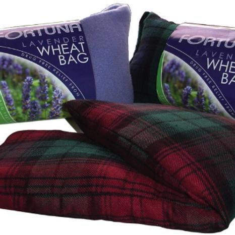 Wheat Bag - (Lavender) - Tartan/Black Watch