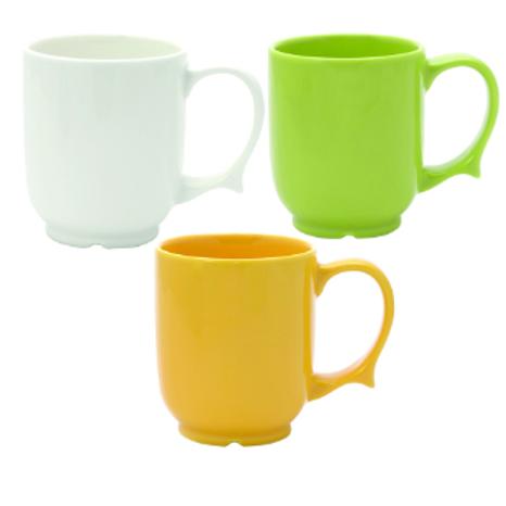 Dignity - 1 Handled Mug white VAT EXEMPT