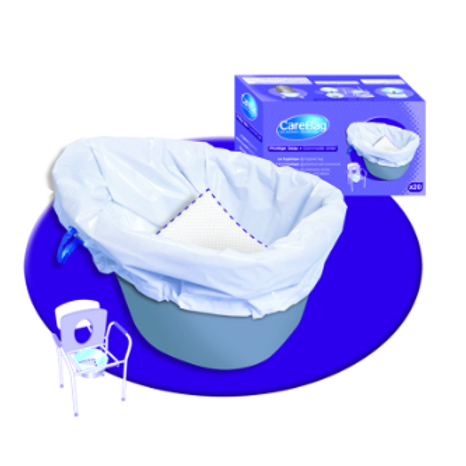 CareBag� Commode Liner - 1 x 20 bags