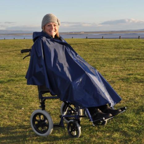 Splash Wheelchair Poncho (Unlined) - U VAT EXEMPT