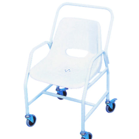 Mobile Shower Chair - Fixed Height VAT EXEMPT