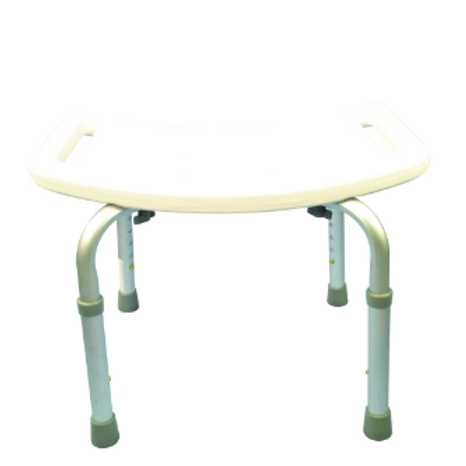 Atlantis Contour Shower Stool with back