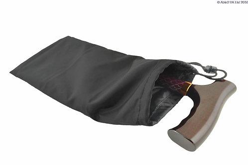 Folding Walking Stick Bag - Black VAT EXEMPT