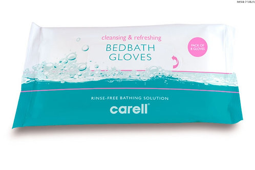 Carell Bed Bath Gloves - Pack of 8