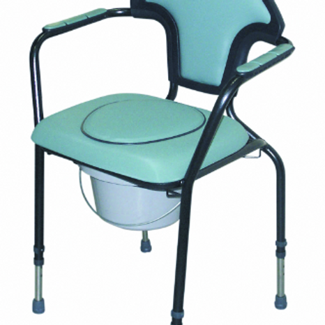 Luxury Commode Chair - Green VAT EXEMPT