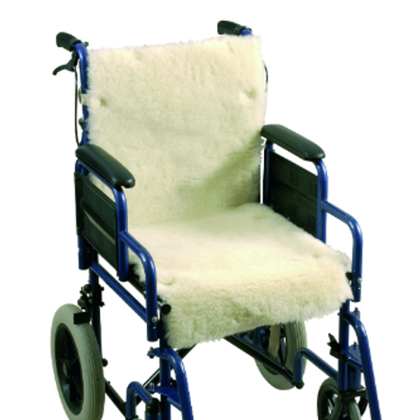 Wheelchair Seat and Back Cover - Fleece VAT EXEMPT