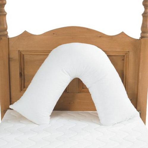 V' Pillow Pillowcase - Pink