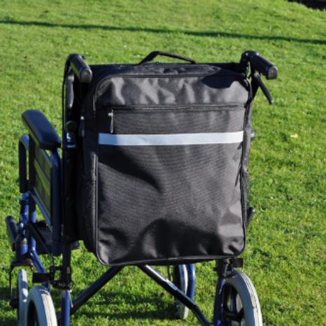 Splash Wheelchair Bag - Black VAT EXEMPT
