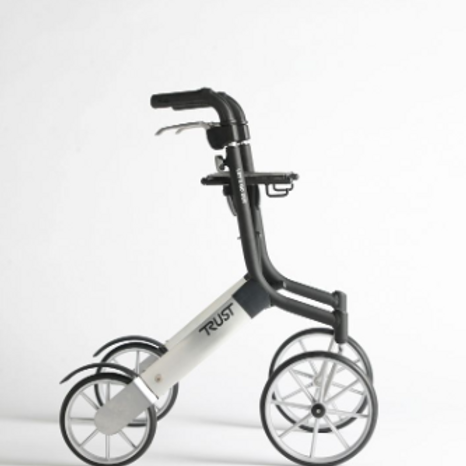 Lets Go Out Rollator - Black/Silver VAT EXEMPT