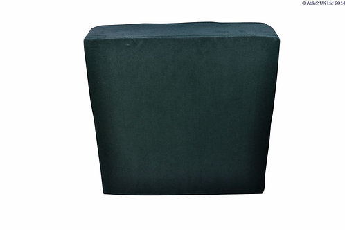 "Harley Booster Cushion - 19x19x4"" (48x48x10cm) BLACK"