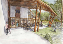 New Learning Centre Watercolour Visual 2