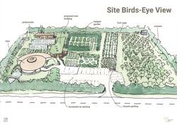 Site birds-eye view