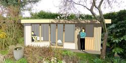 Garden Office 3D Visualisation