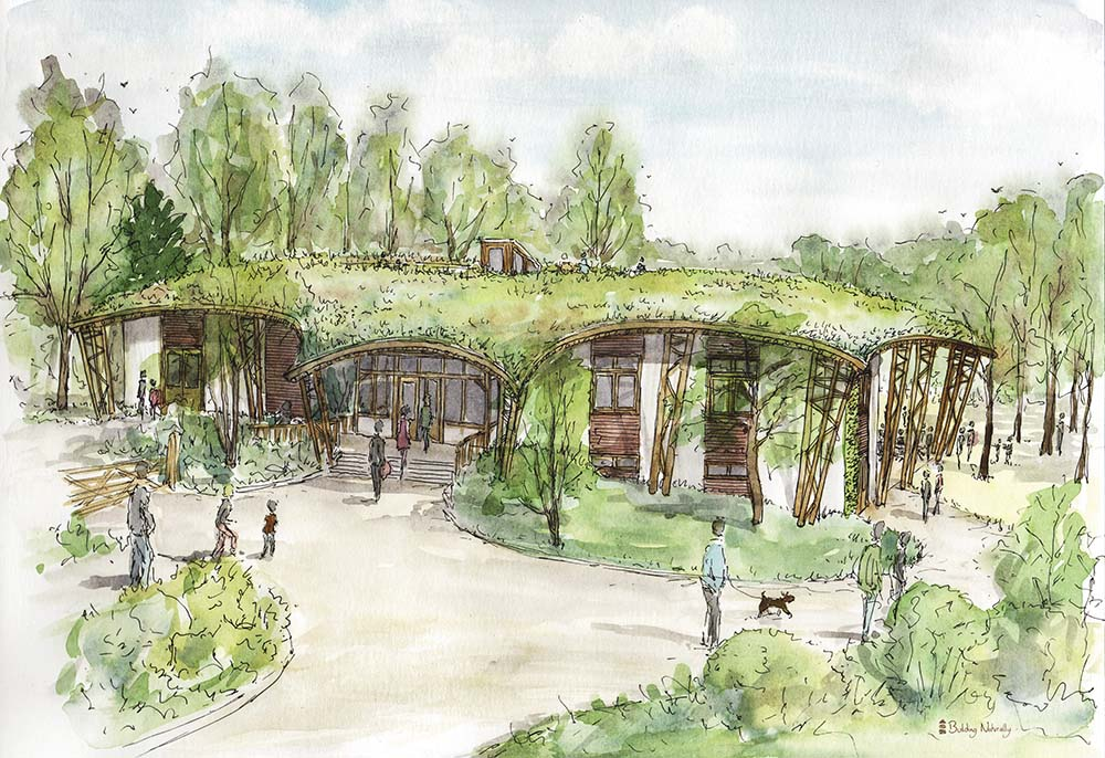 New Learning Centre Watercolour Visual 3