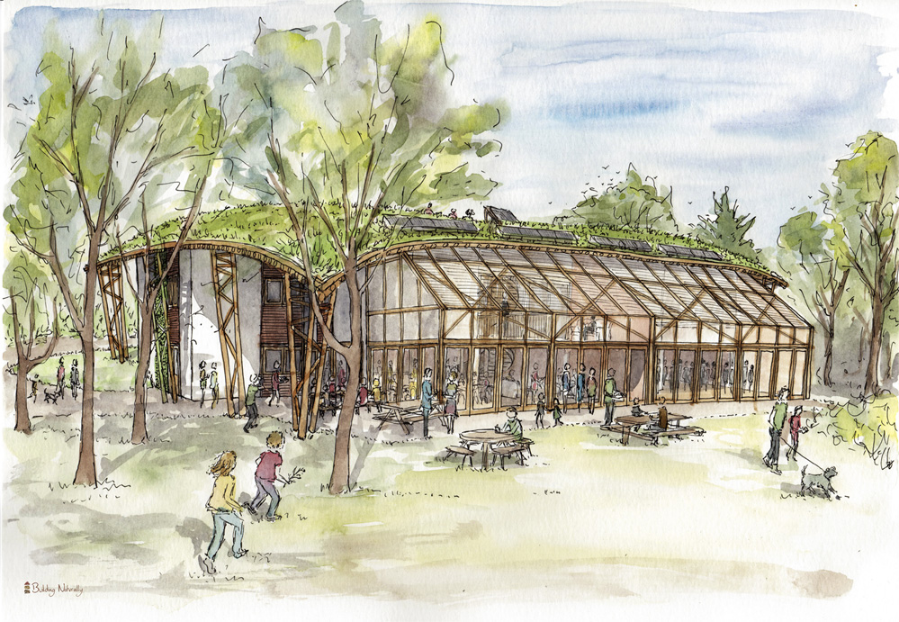 New Learning Centre Watercolour Visual 1