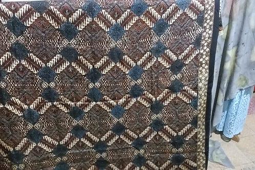 Batik Cap Tulis Bahan Sutra