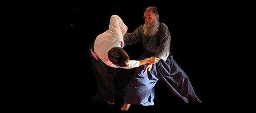 Dynamische Wurftechniken aus der Kampfkunst Aikido mit Meister Hoffmann