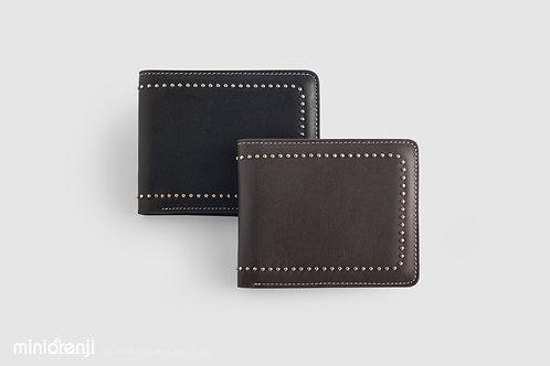 Simple Genuine Cowhide Leather Wallet HGW1013