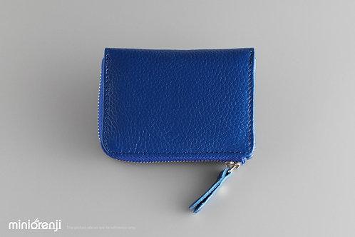 Genuine Leather Mini Size Zip Wallet / Card Holder HGW1004