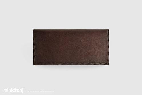 Vintage Dip-dye Wallet Genuine Tan Leather (South America) HGW1012
