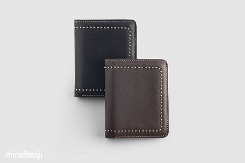 Simple Genuine Cowhide Leather Wallet (Straight Model) HGW1014
