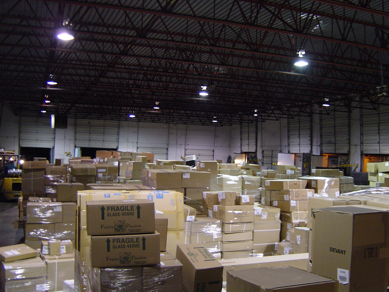 Warehouse Support (paid @ £10.85 p/h)