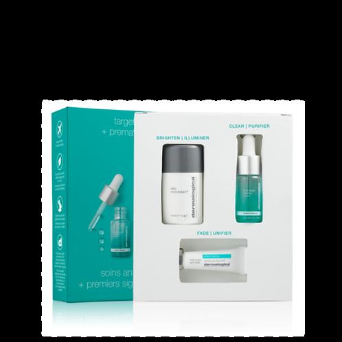 Clear + Brighten Kit set