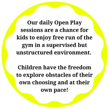 Our daily Open Play sessions are a chanc