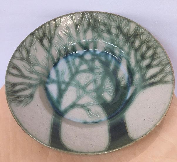 Stoneware Forest platter
