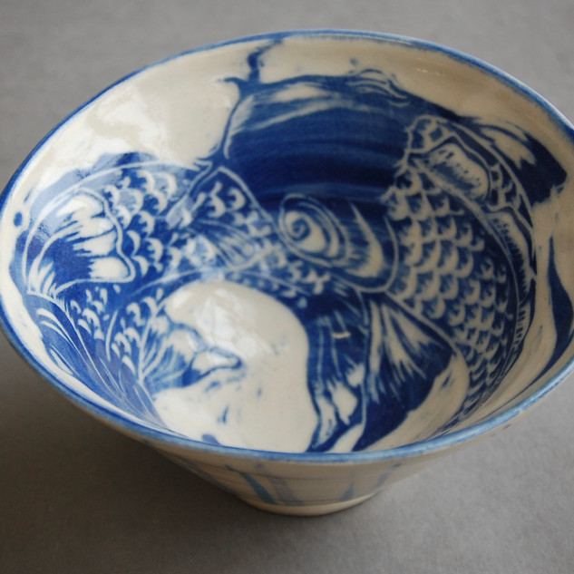 Stoneware Fish bowl £30