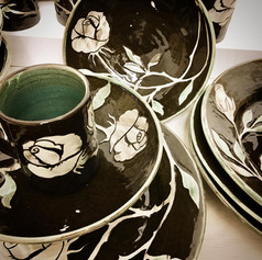 Dinner service, commission
