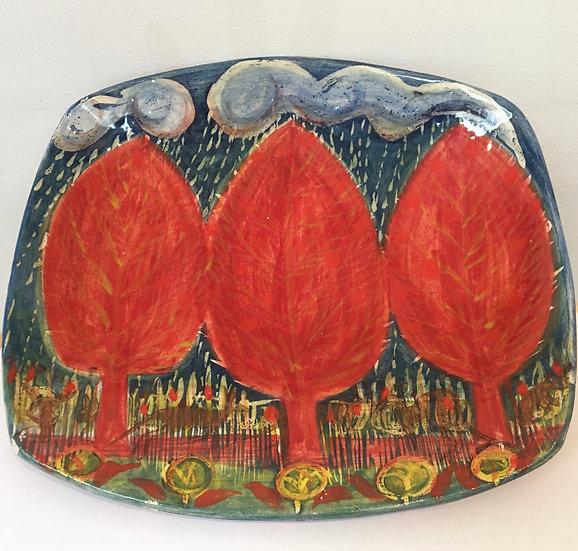 Madeleine Herbert Autumnal platter