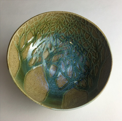 Stoneware Fforest bowl