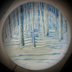 North Woods platter