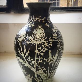 Wild grasses vase £240