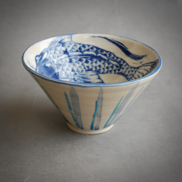 Stoneware Fish bowl £42