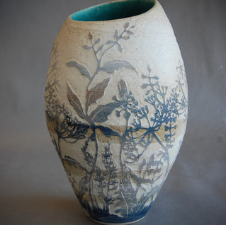 In the Field, stoneware vase, £390