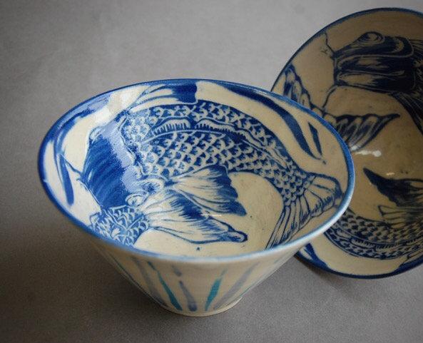 Stoneware Fish bowl