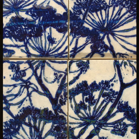 Umbellifers tile panel