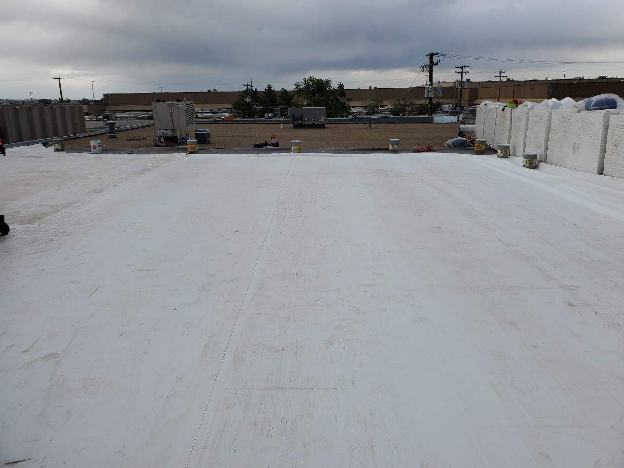 Full Upgrade- Removal of Tar & Gravel Roofing and replaced with TPO