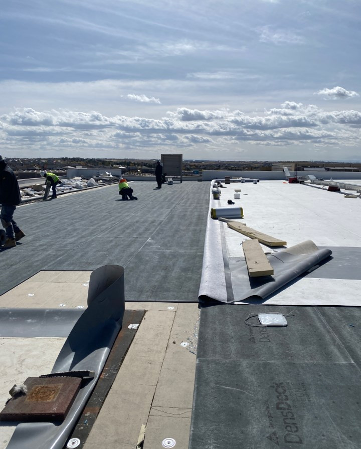 Full Roof replacement due to hail damage