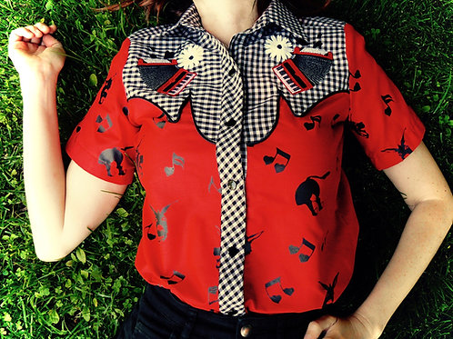Donkey ballad Vicky Shirt