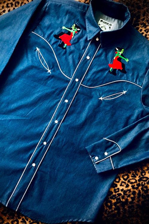 Tango Monsters Western Shirt