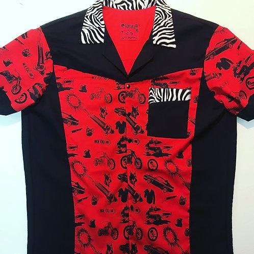 Bowling Zebra Mad Max Shirt